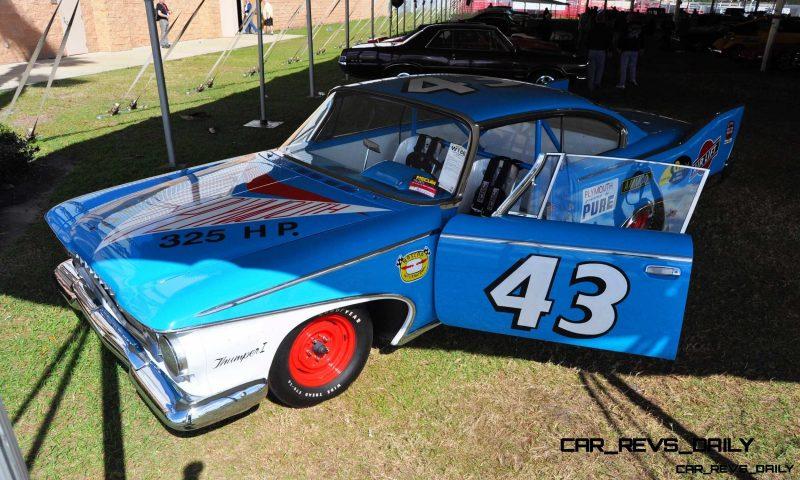 1960 Plymouth Fury NASCAR 42
