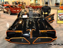 Houston Auto Show Customs – 1960s TV Batmobile by Tony Gullo