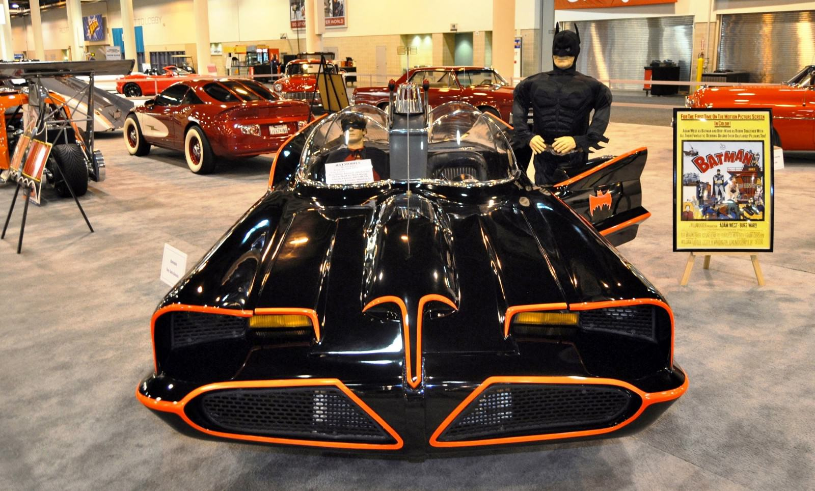 1960s Tv Batmobile By Tony Gullo