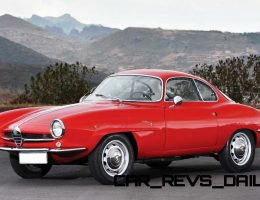 RM Paris 2015 Preview – 1961 Alfa Romeo Giulietta Sprint Speciale by Bertone