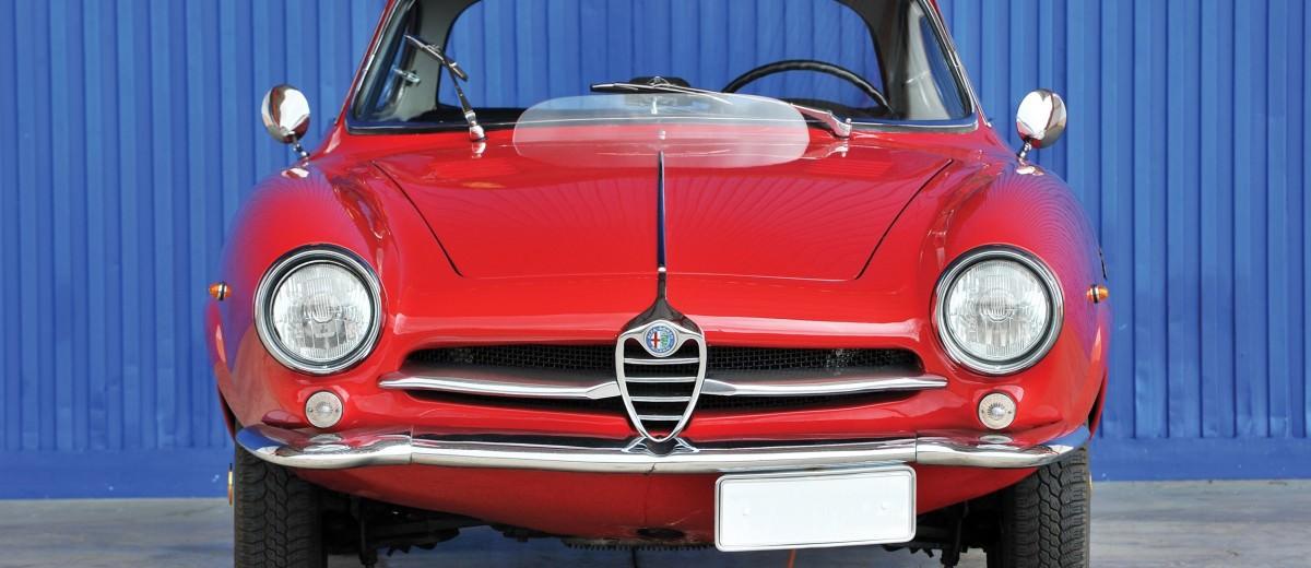 1961 Alfa Romeo Giulietta SS by Bertone 13