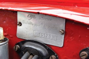 1961 Alfa Romeo Giulietta SS by Bertone 17