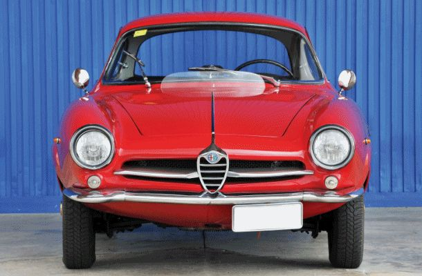 1961 Alfa Romeo Giulietta SS by Bertone