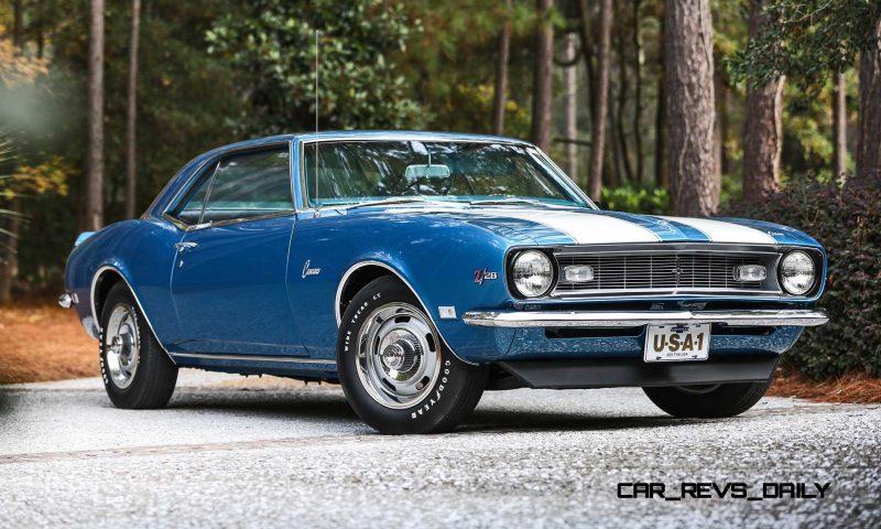 1968 Chevrolet Camaro Z28 20