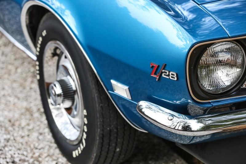 1968 Chevrolet Camaro Z28 28