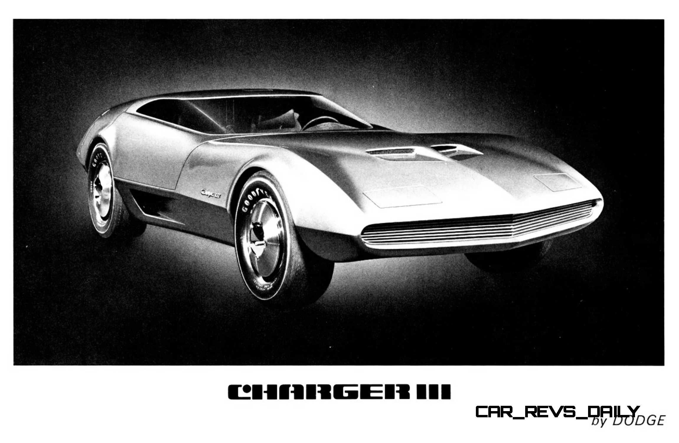 1968 Dodge Charger Iii Concept 6 White