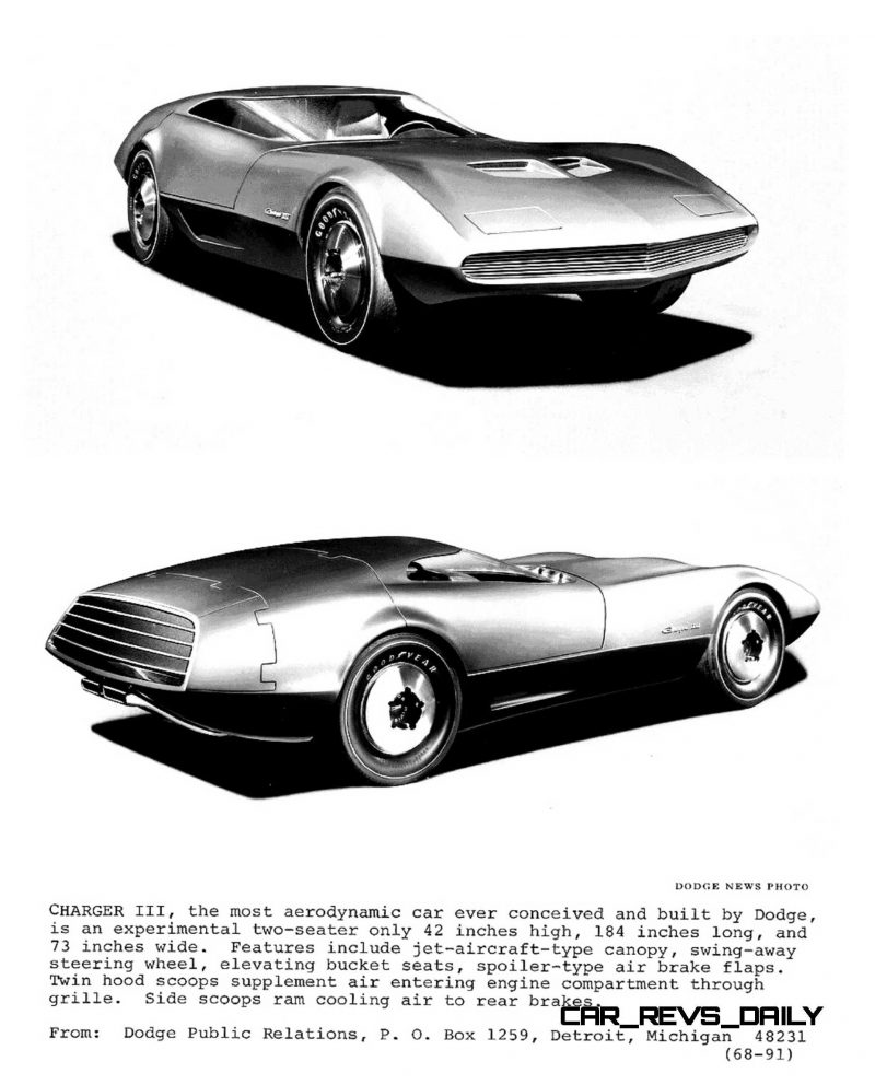 1968 Dodge Charger III Concept 7