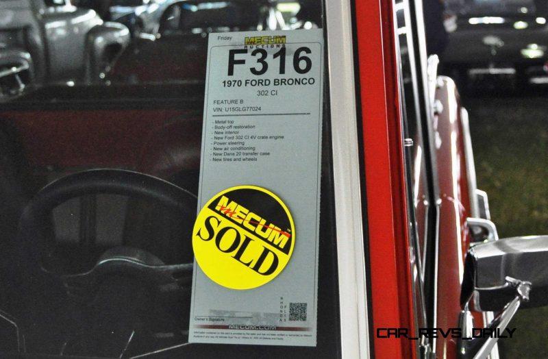 1970 Ford Bronco V8 Pickup 29