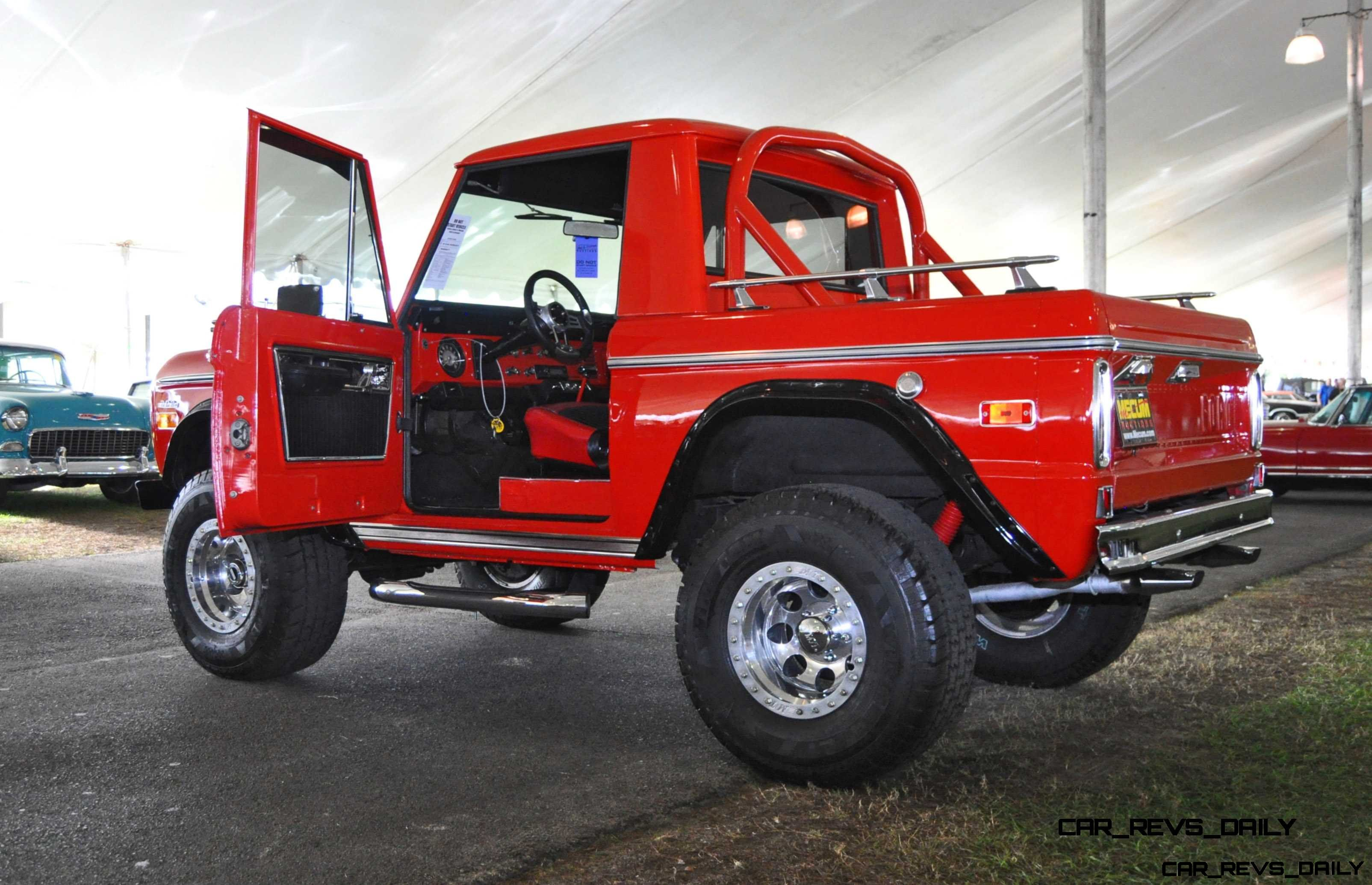 1970 Ford Bronco V8 Pickup 33 Full Size