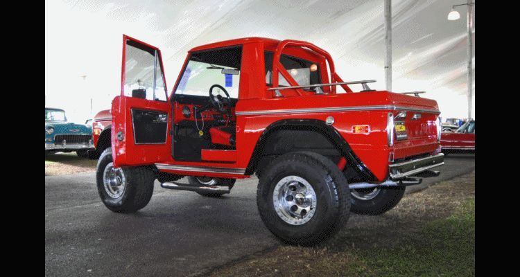 1970 Ford Bronco V8 Pickup