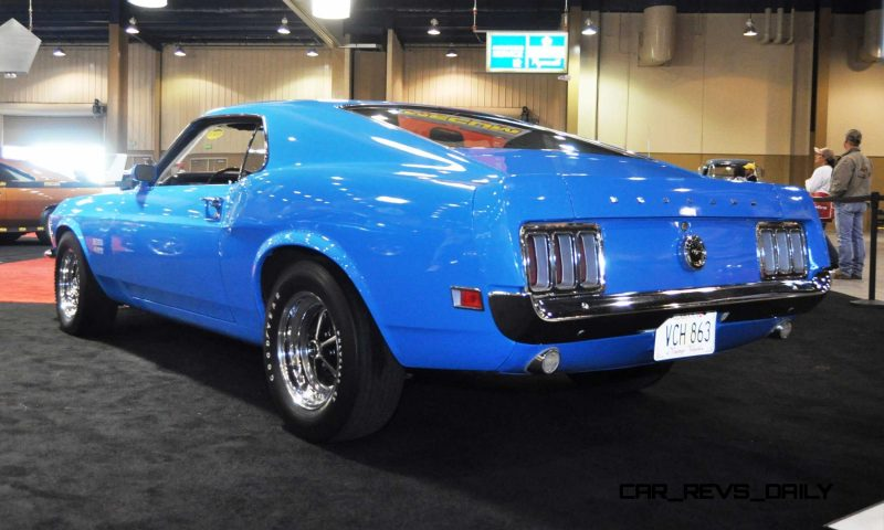 1970 Ford Mustang Boss 429 Fastback 3