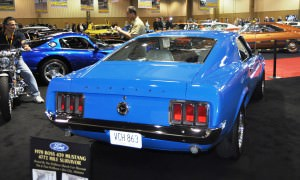 1970 Ford Mustang Boss 429 Fastback 9