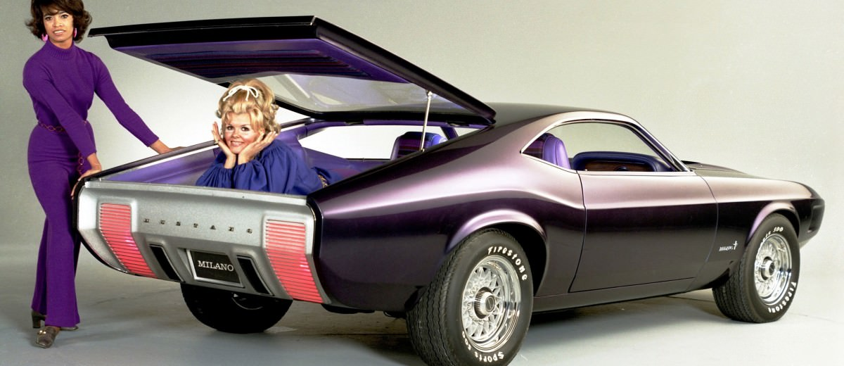 1970 Ford Mustang Milano Concept