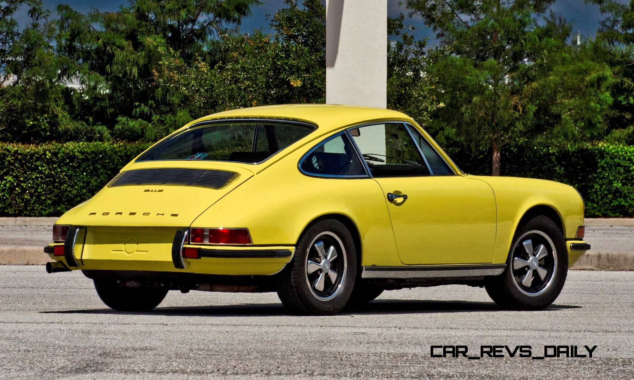 mecum kissimmee preview 1971 porsche 911s car revs. Black Bedroom Furniture Sets. Home Design Ideas