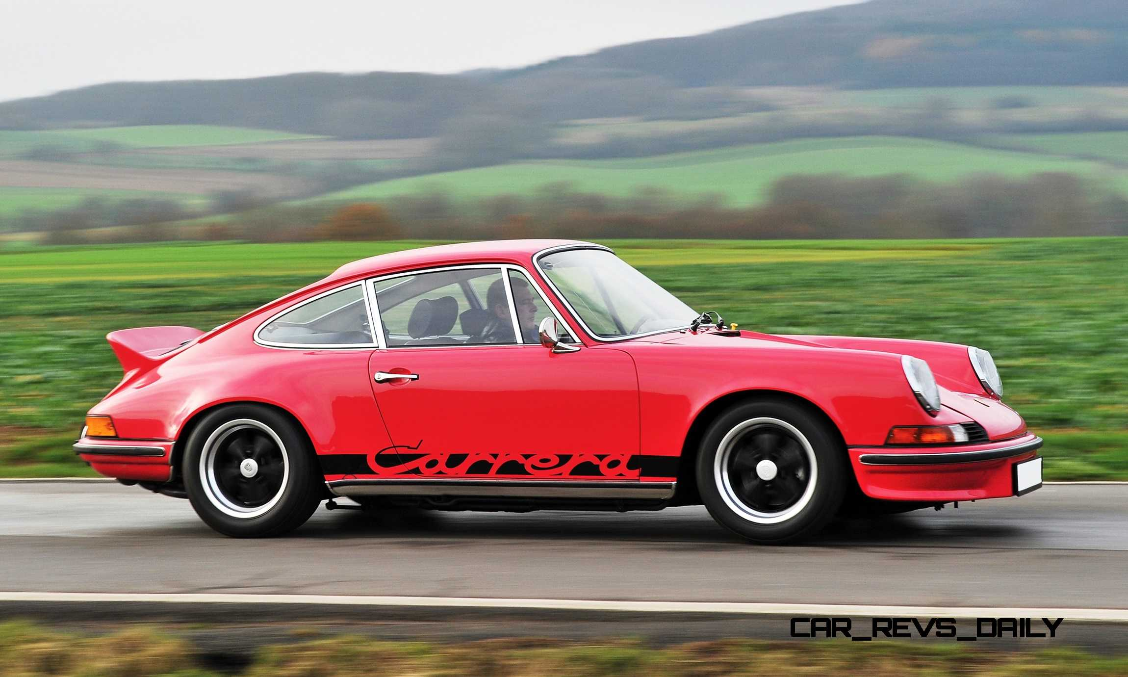 Porsche Carrera Rs Touring on Horizontally Opposed 4 Cylinder Engine