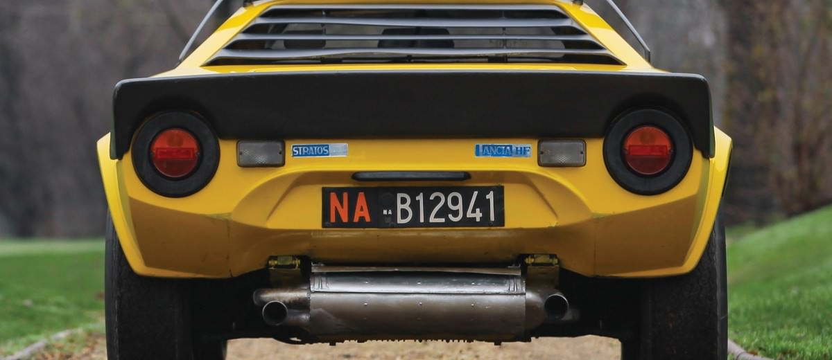 1977 Lancia Stratos HF Stradale by Bertone 14