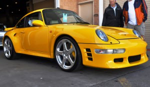 1997 RUF Porsche 911 Turbo R Yellowbird 35