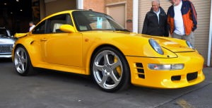 1997 RUF Porsche 911 Turbo R Yellowbird 36