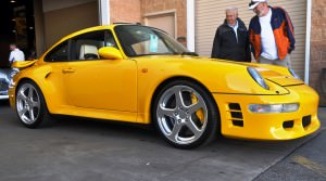 1997 RUF Porsche 911 Turbo R Yellowbird 37