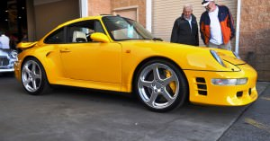 1997 RUF Porsche 911 Turbo R Yellowbird 38
