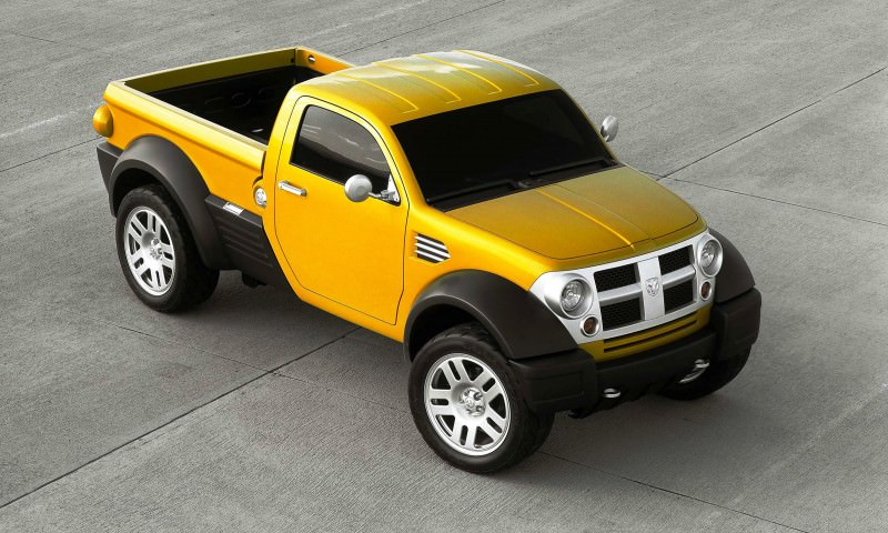 2002 Dodge M80 concept vehicle. (CV-0220)