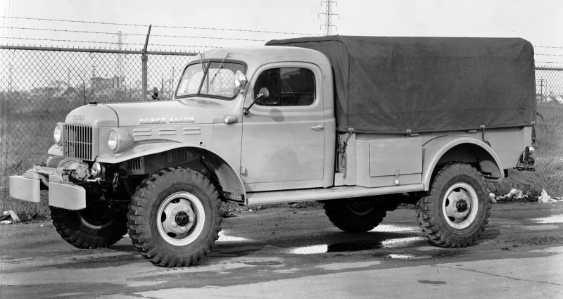 Dodge Power Wagon Concept Vehicle. (pwg003)