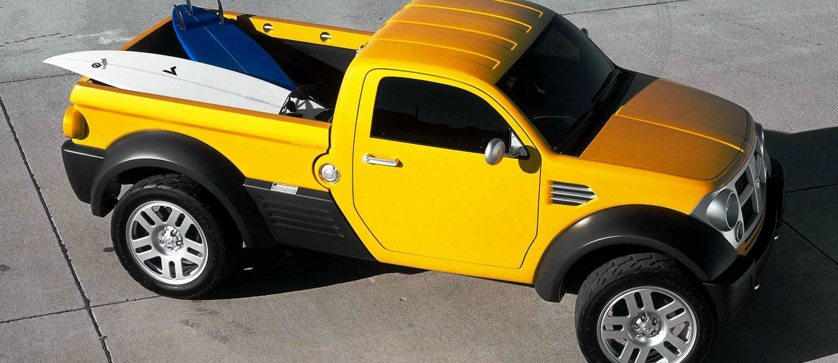 2002 Dodge M80 concept vehicle