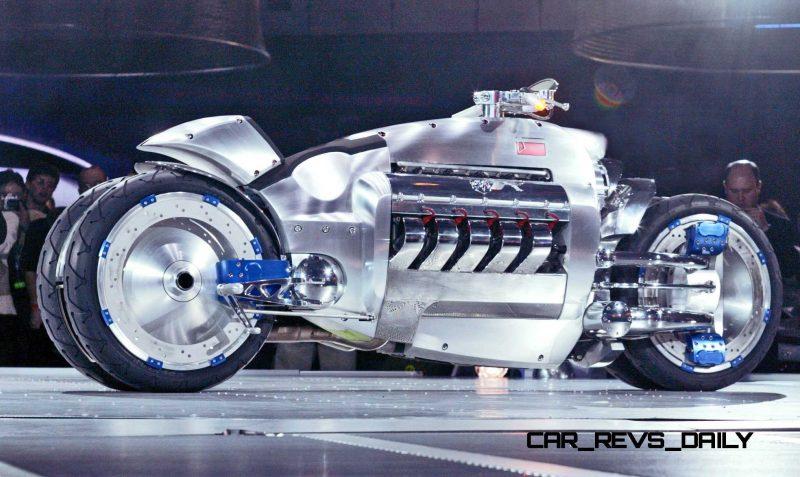 Dodge Tomahawk Concept World Debut Detroit - January 6, 2003 -