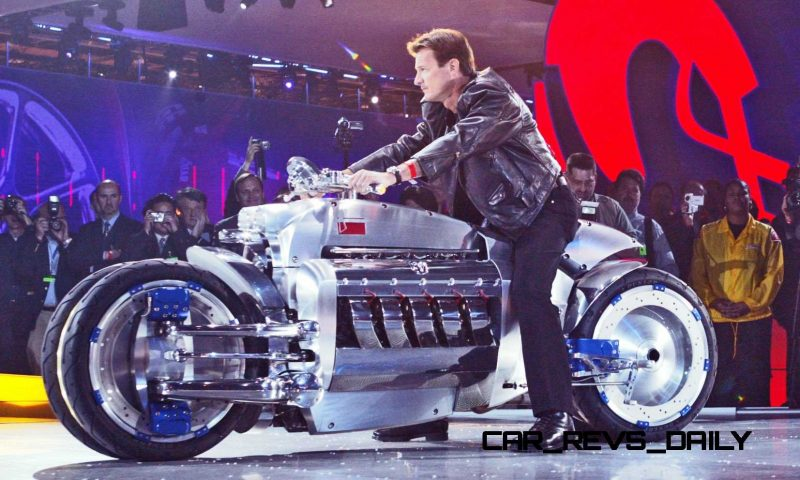 Dodge Tomahawk Concept World Debut  Detroit - January 6, 2003 -