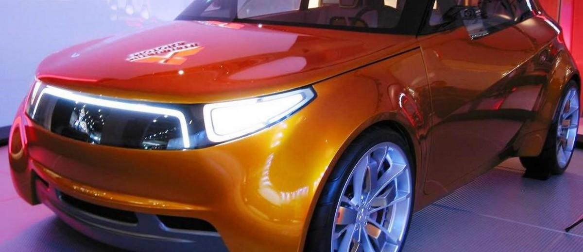 2006 Mitsubishi Concept CT 2