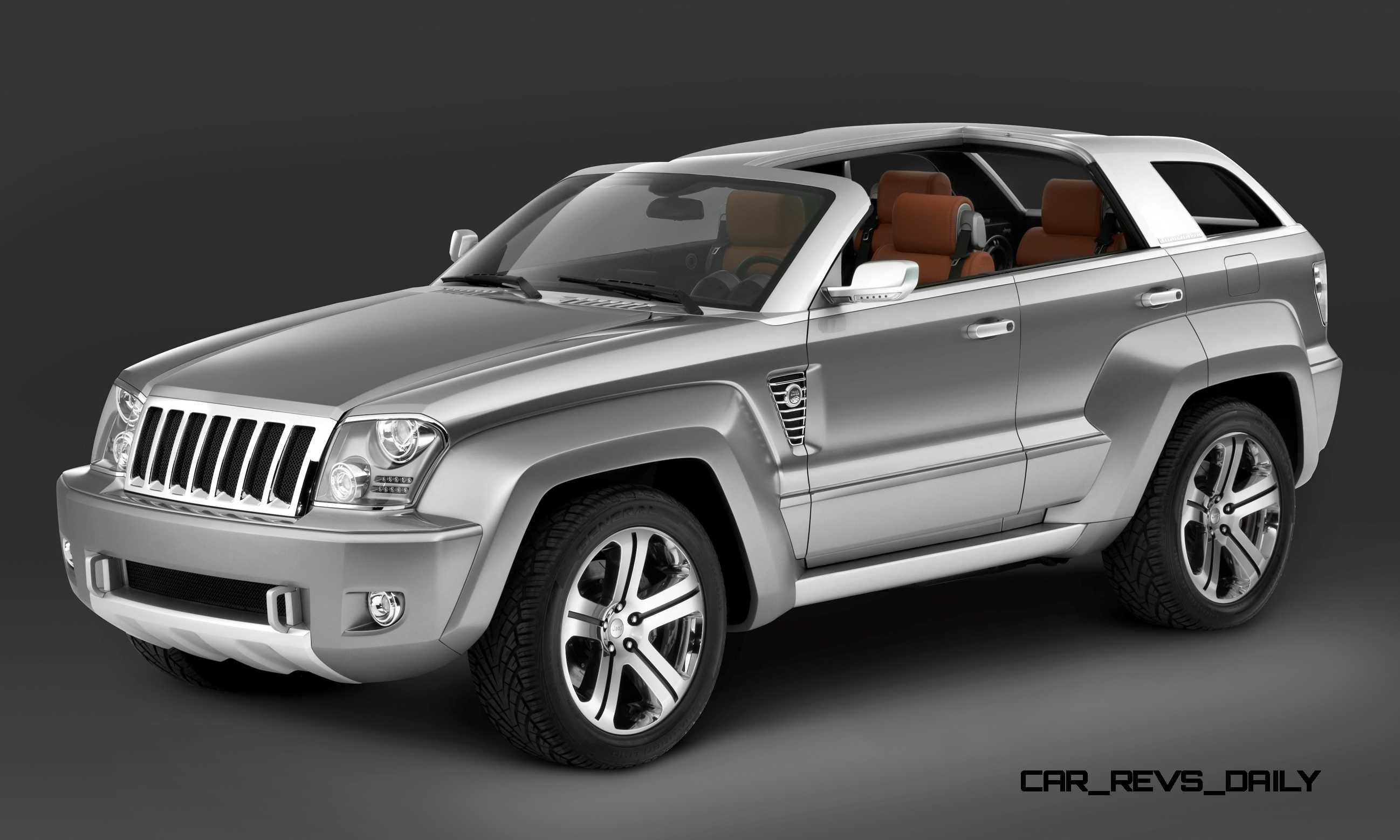Concept Flashback 2007 Jeep Trailhawk