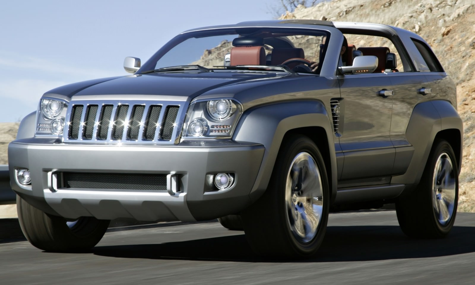 Concept Flashback 2007 Jeep Trailhawk