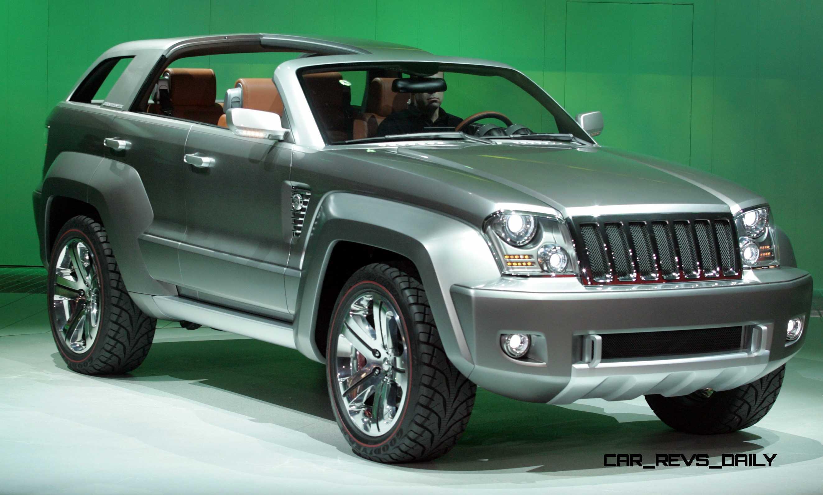 2007 Jeep Trailhawk 25 Car Revs Daily