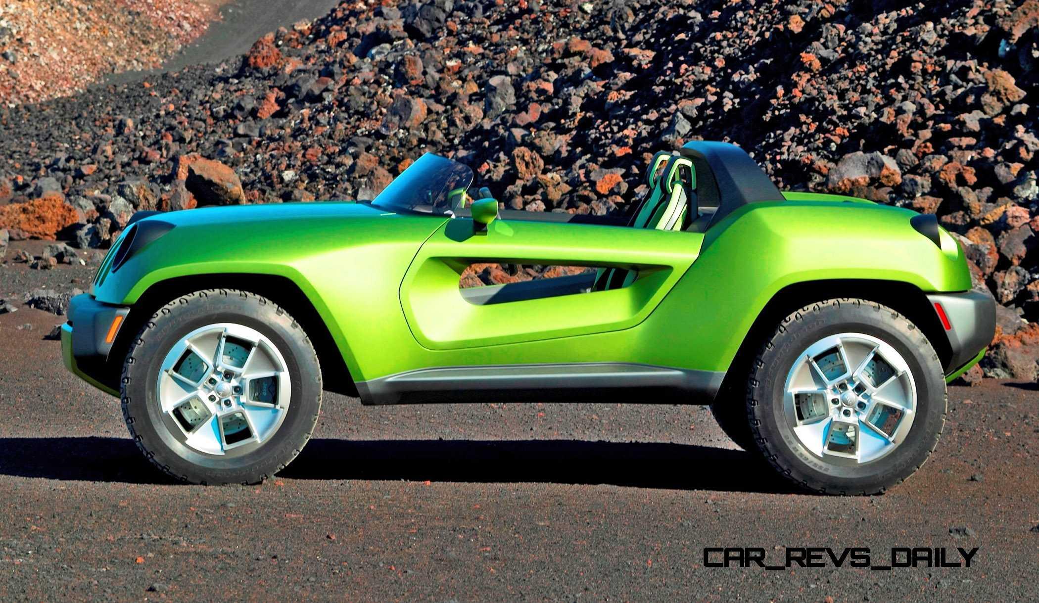 Jeep Wrangler Fenders >> 2008 Jeep Renegade Concept