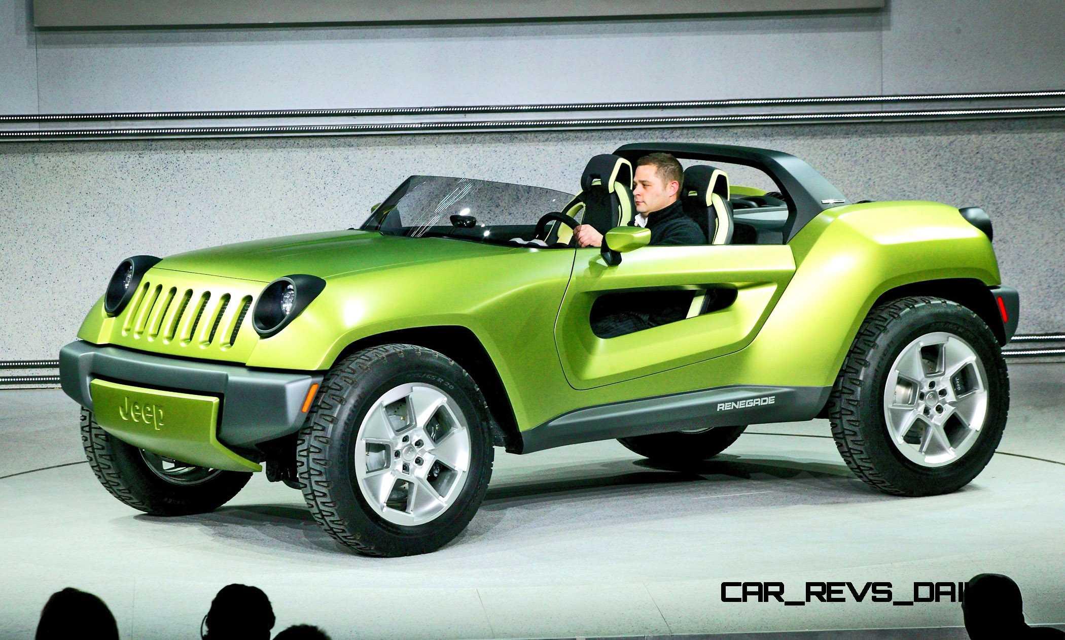 Jeep Renegade Concept Was Ev Off Road Speedster Copy on Jeep Wrangler Renegade Concept