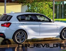 4.5s, 326HP 2015 BMW M135i xDrive Gives Supercar Thrills for VW Golf Bills