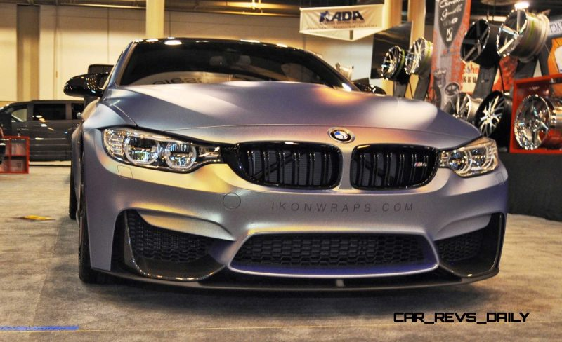2015 BMW M4 by IKON Wraps 10