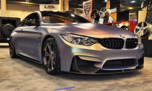 2015 BMW M4 by IKON Wraps 13