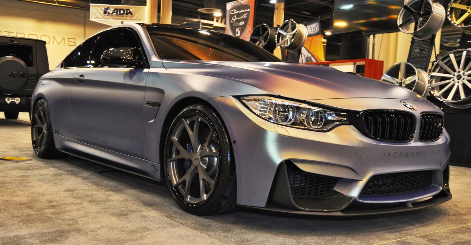 2015 bmw m4 by ikon wraps. Black Bedroom Furniture Sets. Home Design Ideas