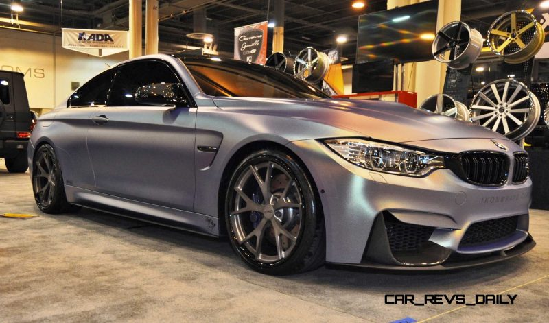 2015 BMW M4 by IKON Wraps 15