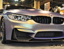 Houston Tuner Highlights – 2015 BMW M4 by IKON Wraps