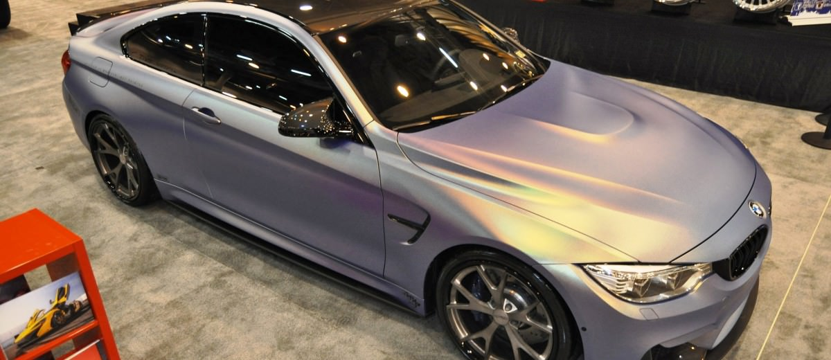 2015 BMW M4 by IKON Wraps 17