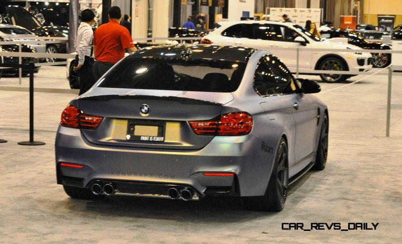 2015 BMW M4 by IKON Wraps 18