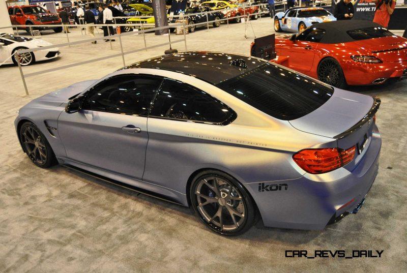 2015 BMW M4 by IKON Wraps 4