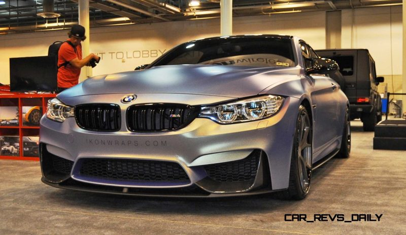 2015 BMW M4 by IKON Wraps 7