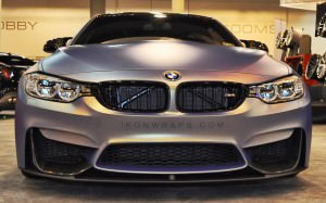 2015 BMW M4 by IKON Wraps 8