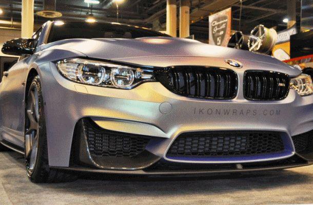 2015 BMW M4 by IKON Wraps