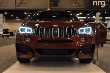Houston Auto Show - 2015 BMW X6 xDrive50i - LEDetails Front and Rear in 50 New Photos