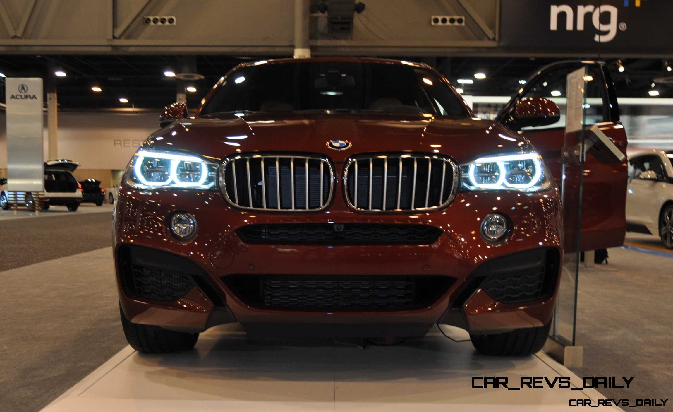 Houston Auto Show – 2015 BMW X6 xDrive50i – LEDetails Front and Rear in 50 New Photos