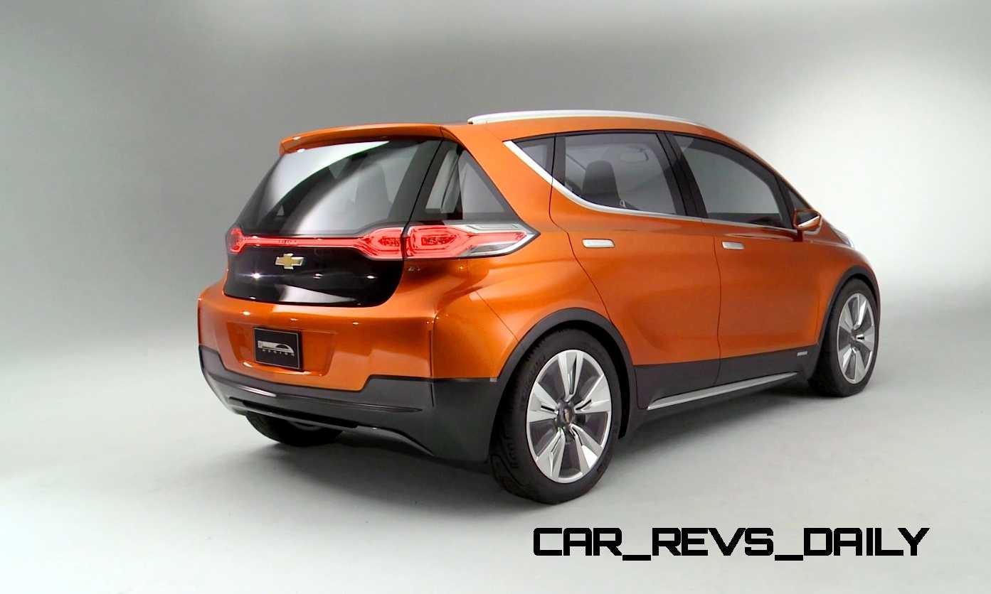Ev Concept Electric Car 2015 Chevrolet Bolt Ev Concept Electric Car